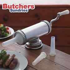 Sausage Filler Stuffer Starter Pack + Free Sausage Seasoning & Hog Casing!!