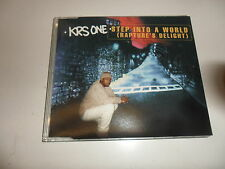 CD KRS-One-Step into a world (Rapture 's Delight)
