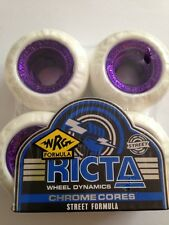 RICTA SKATEBOARD Wheels 50MM CHROME CORES Nijah Huston STREET FORMULA