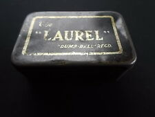 "Collectable "" The Laurel "" Dumb Bell Registered Safety Razor Advertising Tin"