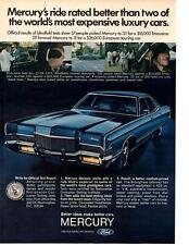 1971 MERCURY MARQUIS BROUGHM ~ ORIGINAL PRINT AD