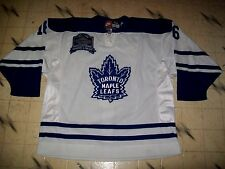 GAME USED TORONTO MAPLE LEAFS LONNY BOHONOS MEMORIES & DREAMS 1999 HOCKEY JERSEY