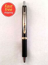 Pentel Energel New Black & Gold Design Permanent GelBlack Ink Fine Point 05