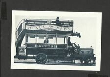 Nostalgia Postcard Publicity Bus for Heals Beds 1926