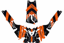 2016 POLARIS RUSH axys pro rmx 600/800 SNOWMOBILE SLED WRAP DECALS Mofo