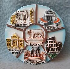 Rome Italy Attractions Roma 3D Magnet, Souvenir, Travel, Refrigerator
