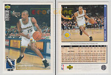 NBA UPPER DECK 1994 COLLECTOR'S CHOICE - Latrell Sprewell # 15 - Ita/Eng- MINT