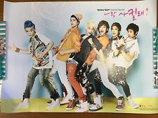 Teen Top Be Ma Girl Summer Special Official Promo Poster Not For SALE HTF Korea