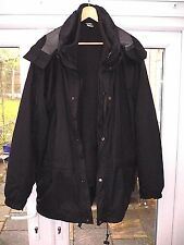 LOWE ALPINE TRIPLE POINT SYSTEM BLACK JACKET COAT FLEECE INNER MENS XL - XXL FIT