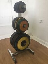 Olympic Weights Discs (270kg) With Universal Storage Rack