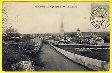 cpa 86 - SAINT SAVIN sur GARTEMPE (Vienne) Vue Générale du VILLAGE