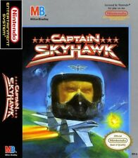 Captain Sky Hawk For Nintendo NES Vintage 6E