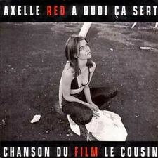 CD single Axelle RED A quoi ca sert Promo 1 Track card
