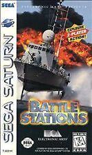 Battlestations (Sega Saturn, 1997) disc only Battle Stations