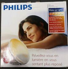 Philips HF3520 Wake-Up Light With Colored Sunrise Simulation, White *NIB*