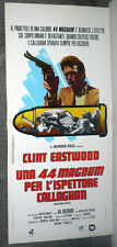 MAGNUM FORCE/DIRTY HARRY original 1973 RARE movie poster CLINT EASTWOOD