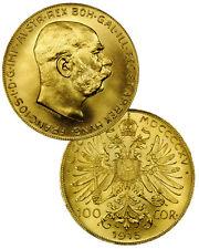 1915 Austria-Hungary Gold 100 Corona-Korona Coin .9802 Oz AGW SKU20180