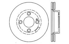 Disc Brake Rotor-High Performance Drilled And Slotted fits 99-03 Mazda Protege