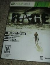 Rage Anarchy Edition (Microsoft Xbox 360, 2011) NEW Sealed