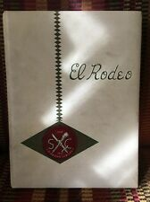 """1955 USC YEARBOOK """"El Rodeo"""" University of Southern California LOADED WITH PICS"""