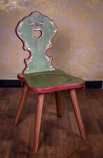Voglauer Chair Bauer Wood Country style Farmhouse furniture coloured