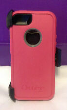 New! OtterBox Defender Series in Pink/Gray for iPhone 5 no box