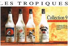 Publicité Advertising 1991 (2 pages) Malibu Liqueur