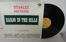 Stanley Brothers Banjo In The Hills 33 LP Vinyl Record Starday SK-872