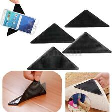 4 X Rug Carpet Mat Pad Grippers Ruggies Sticky Non Slip Skid Reusable Washable