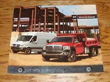 Original 2009 Dodge Truck Commercial Vehicles & Programs Sales Brochure 09