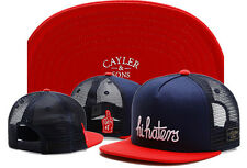 Men Women CAYLER SONS Snapback Adjustable Baseball cap Hip Hop street Blue Hat