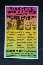 Woodstock Tour Poster 1969 #1
