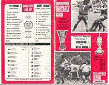 Fussball Programmheft Liverpool League Champions UEFA Cup 27 Dezember 1976 !