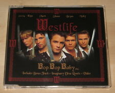 Westlife - Bop Bop Baby (4 Track CD Single 2002). Incl Video