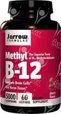 Jarrow, Methylcobalamin Vitamin B12 - 5000mcg x60 Lozengers