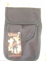 VIPER BLACK BELT FITTING WEBBING LARGE PATROL POUCH - Security PCSO police