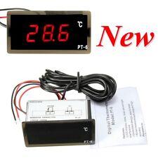 -40~110°C 12V Voiture LED Numérique Thermomètre Détecteur Compteur Température