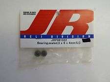 JR - BEARING, SEALED, 3x8x4mm: S,C - MODEL # JRP981022