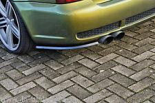 Heckansatz Diffusor Spoilerecken Seitenteile aus ABS für Audi RS4 B5