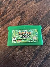 Pokemon Leaf Green Version Nintendo Gameboy Advance GBA Cart L@@K