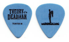 Theory Of A Deadman Tyler Connolly Blue Guitar Pick - 2003 Tour