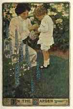 A4 Photo Willcox Smith Jessie 32 1902 A Mothers Day In the Garden Print Poster