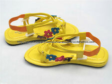 SO CHEAP! GOOD LUCK STRAPPY SANDALS SHOES 6-7 yo 13.5/31.5 MADE IN KOREA BNW
