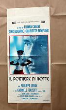 Locandina Originale Il Portiere Di Notte - Liliana Cavani - 33x70 CM