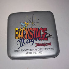 DISNEY ~ DISNEYLAND ~ BACKSTAGE MAGIC ~ BUTTON ~ 40TH ANNIVERSARY OPEN HOUSE '95