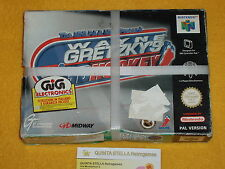 WAYNE GRETZKY'S 3D HOCKEY NINTENDO 64 N64 NUOVO NEW VERS. PAL LOOK PHOTO