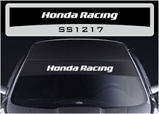 Ss1217 Honda Sol Tiras gráficos Stickers Calcomanías sunstrip Civic Accord Tipo R