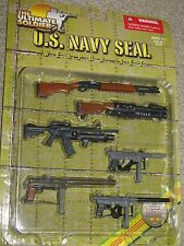 1/6 Vietnam War US Navy Seal Weapon Set, China Lake, Remington 7188, M76, CAR15