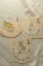 Vintage 24 Table Tots Place Cards Favors Child Bride Southern Belle BRAND NEW