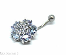 Choose - Design Dangle Navel Belly Button Bar Barbell Ring Body Piercing